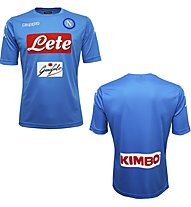 Kappa Kombat Extra Napoli Fußballtrikot Napoli Kurzarm, Light Blue