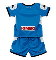 Kappa Kombat Kit Napoli - maglia e pantaloncino calcio - bambino, Light Blue