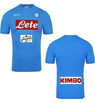 Kappa Prima Maglia Gara Uff Napoli Maglia calcio, Light Blue