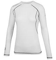Kappa Skin Tech T LS W - Funktionsshirt Langarm - Damen, White