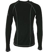 Kappa Skin Tech T LS W - Funktionsshirt Langarm - Damen, Black
