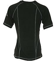 Kappa Skin Tech W S/S Roundneck - maglietta tecnica a manica corta - donna, Black