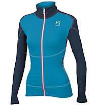 Karpos Alagna - giacca in pile - donna, Light Blue/Blue