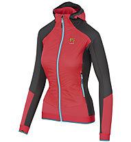 Karpos Alagna Plus Evo - giacca sci alpinismo - donna, Pink/Black