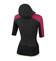 Karpos Alagna Plus W Puffy - giacca sci alpinismo con cappuccio - donna, Pink/Black