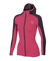 Karpos Breezy Fleece - giacca in pile - donna, Pink/Black