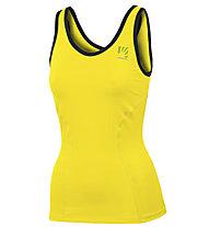 Karpos Bull - canotta sport di montagna - donna, Yellow