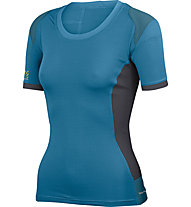 Karpos Cliff W T-Shirt Trekking Donna, Blue