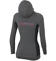 Karpos Cunturines - giacca in pile con cappuccio - donna, Grey