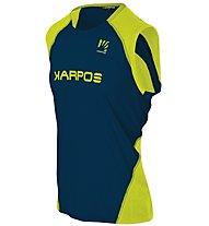 Karpos Fast - top trail running - uomo, Blue/Yellow