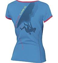Karpos Futura Jersey - T-shirt trekking - donna, Blue
