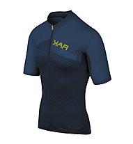 Karpos Green Fire - maglia da ciclismo - uomo, Dark Blue/Black