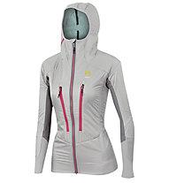 Karpos K-Performance Hybrid W - giacca con cappuccio - donna, Grey