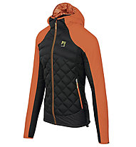 Karpos Lastei Active Plus - giacca con cappuccio - uomo, Black/Orange
