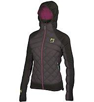 Karpos Lastei Active Plus - giacca con cappuccio - donna, Black