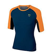 Karpos Lavaredo - T-Shirt Trekking - uomo, Orange/Blue