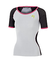 Karpos Lavaredo W Jersey - T-shirt - donna, White/Black
