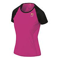 Karpos Lavaredo W Jersey - T-shirt - donna, Pink/Black