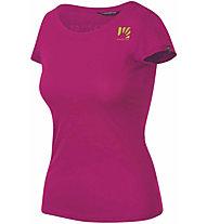 Karpos Loma W Jersey - T-Shirt - Damen, Dark Pink