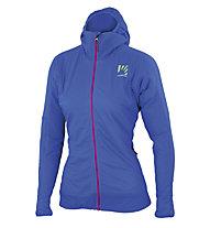 Karpos Lyskamm Flex W - giacca scialpinismo con cappuccio - donna, Blue