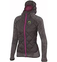 Karpos Marmarole - Hybridjacke mit Kapuze Skitouren - Damen, Dark Grey