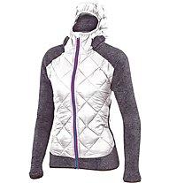 Karpos Marmarole - giacca ibrida in pile - donna, White/Grey