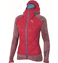 Karpos Marmarole - Hybridjacke mit Kapuze Skitouren - Damen, Pink