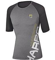 Karpos Moved Evo Jersey - T-Shirt - Herren, Dark Grey/Black