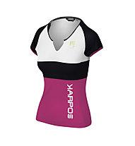 Karpos Moved Evo W Jersey - T-Shirt - Damen, Pink/Black/White