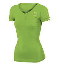 Karpos Moved W Jersey - T-shirt trekking - donna, Green