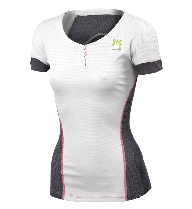 Karpos Moved Jersey - T-Shirt Bergsport - Damen, White/Black