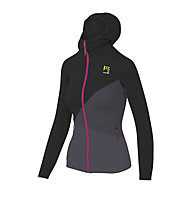Karpos Nuvolau Fleece - giacca in pile - donna, Black/Dark Grey