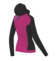 Karpos Nuvolau - Fleecejacke - Damen, Black/Pink