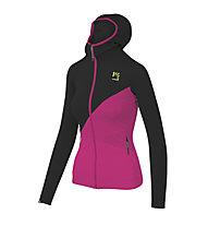 Karpos Nuvolau Fleece - giacca in pile - donna, Black/Pink