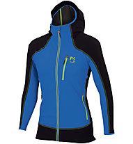 Karpos Parete - giacca con cappuccio - uomo, Light Blue/Black