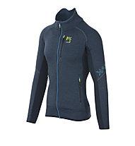 Karpos Pizzocco Fleece - giacca in pile - uomo, Blue