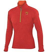 Karpos Pizzocco Half-zip - maglia in pile - uomo, Red