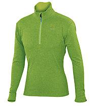 Karpos Pizzocco Half-zip - maglia in pile - uomo, Green