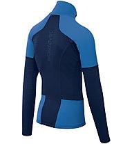 Karpos Puez Fleece - felpa in pile - uomo, Blue/Light Blue