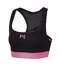 Karpos Quick Evo - Sport-BH - Damen, Black/Pink