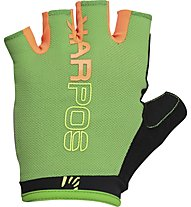 Karpos Rapid ½ Fingers Glove - Fahrradhandschuh MTB, Green/Orange