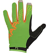 Karpos Rapid Glove - Fahrradhandschuh MTB Vollfinger, Green/Orange