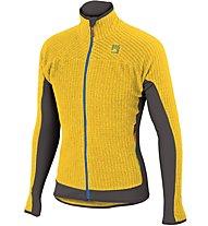 Karpos Rocchetta - giacca in pile alpinismo - uomo, Yellow