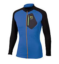 Karpos Roccia Zip LS - giacca trekking - uomo, Blue/Black