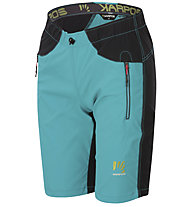 Karpos Rock W - pantalone corto trekking - donna, Light Blue/Black