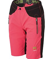 Karpos Rock W - pantalone corto trekking - donna, Pink/Black