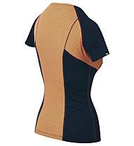 Karpos Sassongher Jersey - t-shirt - donna, Dark Blue/Orange