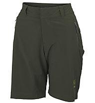 Karpos Scalon - pantaloni corti trekking - donna, Dark Green