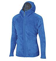 Karpos Talvena - giacca in pile con cappuccio - uomo, Grey/Blue