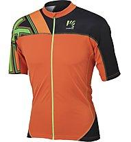Karpos Teck Jersey - Radtrikot Herren, Orange/Grey